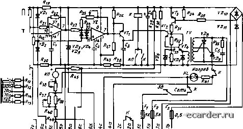 электрическая схема .