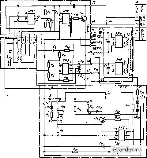 Г5-54 в каталоге схем и